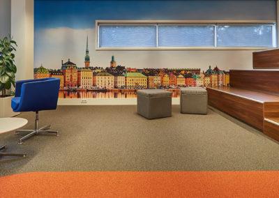 GS1 - ontspannings- en ontmoetingsruimte Stockholm