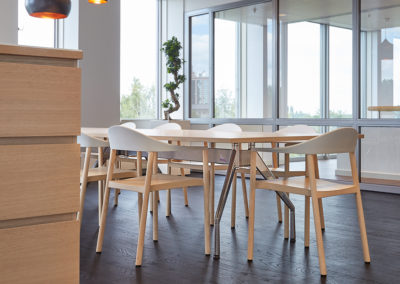 Tosoh Europe - stijlvolle en functionele lunchruimte