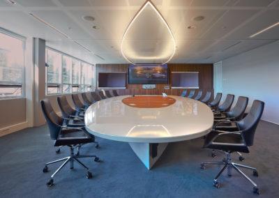 Luxe boardroom