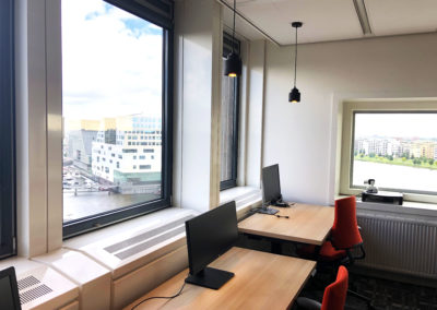 Port of Amsterdam werkplekken met uitzicht