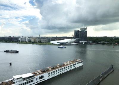 Port of Amsterdam uitzicht