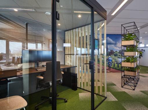 'Werken waar het werken kan' – herinrichting gemeentehuis Amstelveen